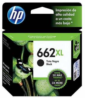 Tinta HP 662XL negra