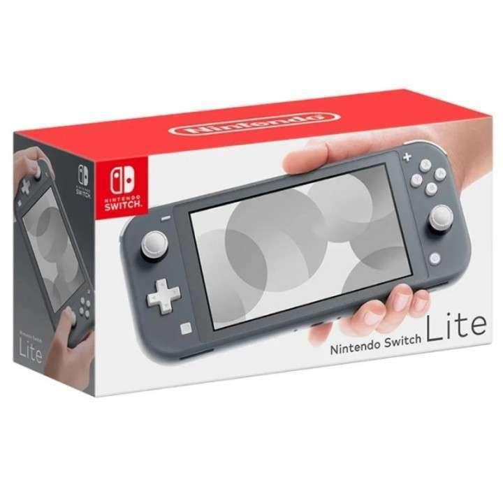 Consola Nintendo Switch Lite gris HDH-S-GAZAA - 0