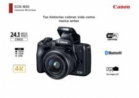 Cámara Canon M50 Kit 15-45mm
