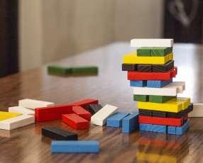 Tembleque 54 piezas de colores