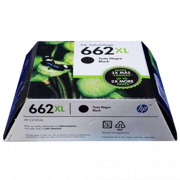 Tinta HP 662XL negra - 2