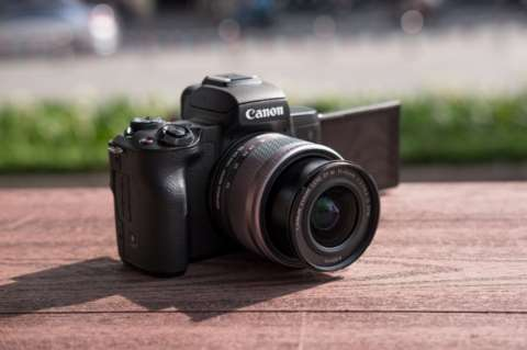 Cámara Canon M50 Kit 15-45mm.