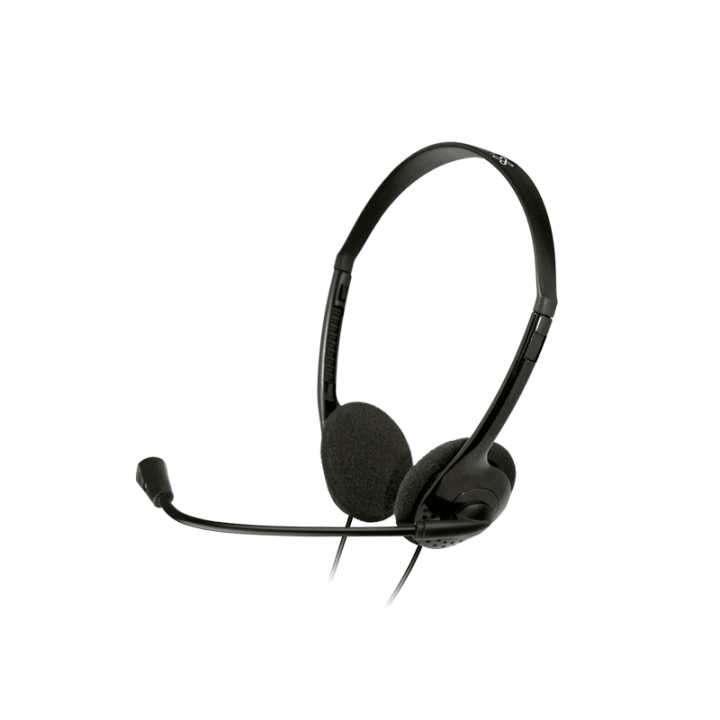 Auricular con micrófono Klip KSH-270 2 jack negro - 0