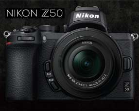 Cámara Nikon Z50 Kit de lente 16-50 mm
