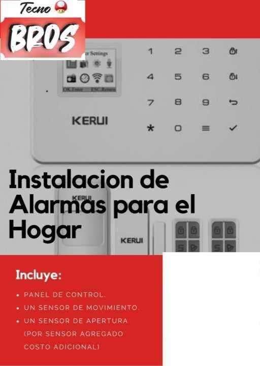 Alarma para casas oficinas o depósitos - 0
