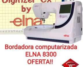 Bordadora computarizada Elna 8300