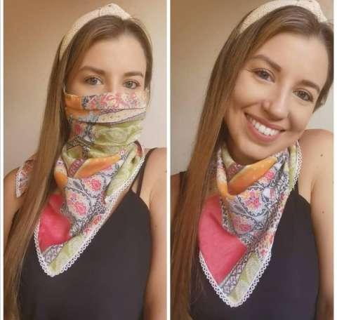 Tapaboca con bandana