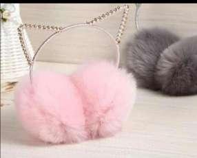Orejitas de gatos con strass