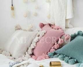 Almohadones de lana
