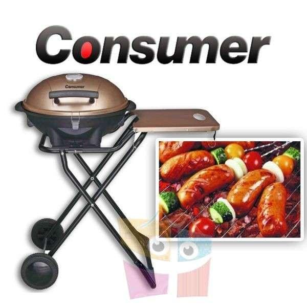 Parrilla Grill Eléctrica Plegable de Consumer - 0