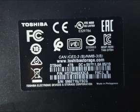 Disco externo Toshiba 4tb