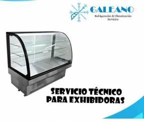 Servicio técnico para vitrinas exhibidoras