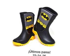 Bota de lluvia Batman