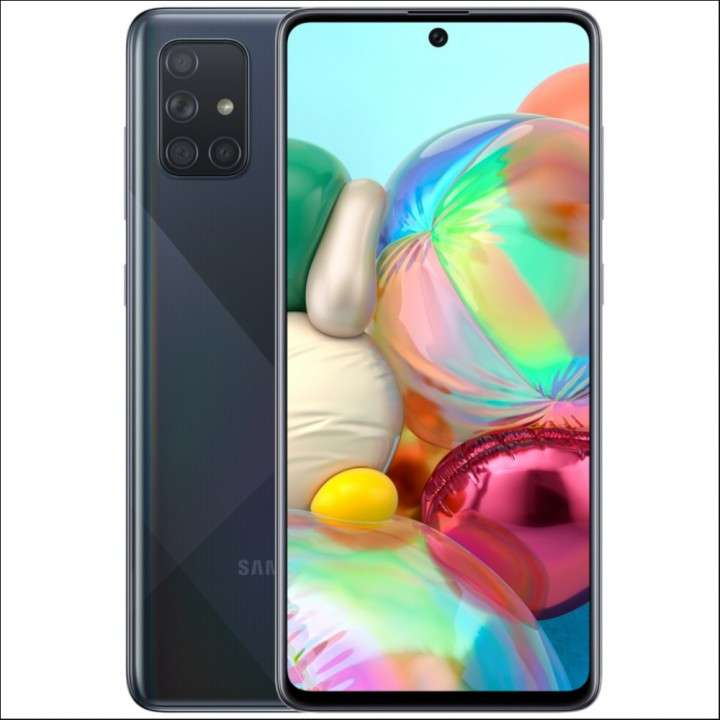 Smartphone Samsung Galaxy A71 SM-A715F DS 6/128GB 6.7 64+12+ - 0