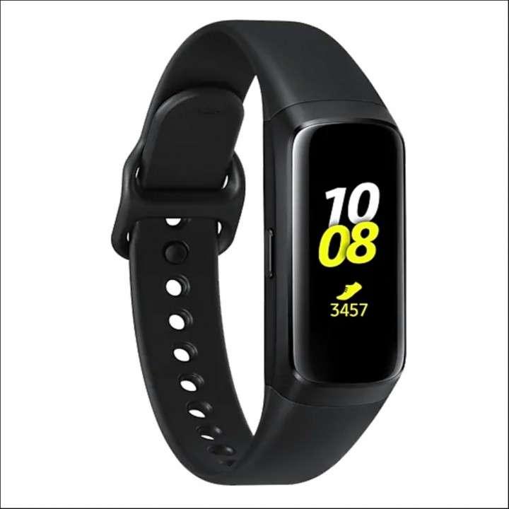 Relojes Samsung Galaxy Fit SM-R370N com Bluetooth/Tela AMOLE - 0