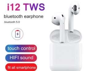 Auriculares i12 Inalámbrico con micrófono