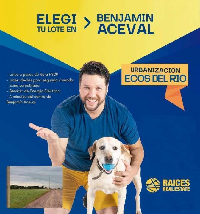 Terreno en Benjamin Aceval - 0