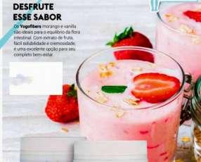 Yogofiber bebida láctea a base de fibras