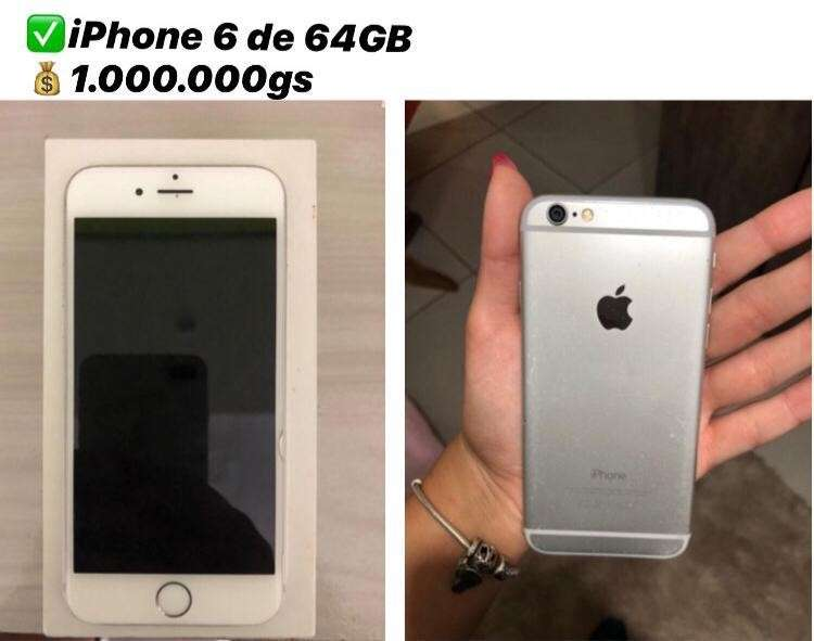 iPhone 6 de 64 gb - 0