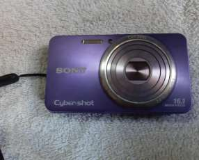 Cámara Sony Cyber-shot 16.1 megapíxeles color lila