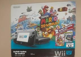 Wii U deluxe set y artículos extra