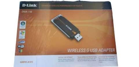 Adaptador wifi usb D-Link con soporte