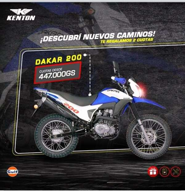 Moto Kenton Dakar 200 - 0