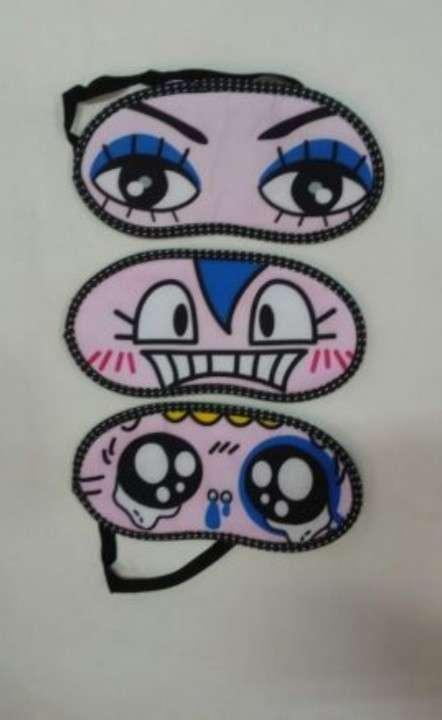 Tapa ojo con ojos de caricaturas - 3