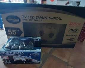 Smart tv led Speed full UHD 4k de 55 pulgadas