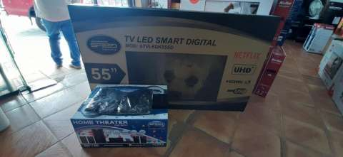 Smart tv led Speed full UHD 4k de 55 pulgadas