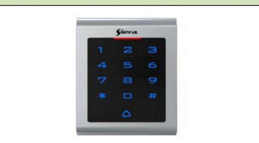 Control de acceso por tarjeta o código para apertura puerta - 0