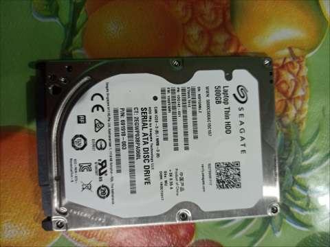 Disco duro 500 gb HDD(usado)