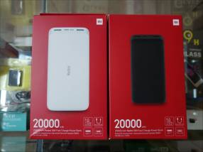 Cargador portátil Xiaomi 20.000 mAh carga rápida