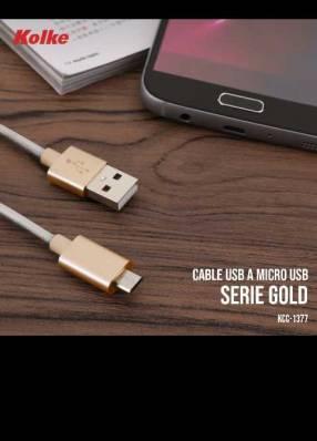 Cable mini usb de 3 metros
