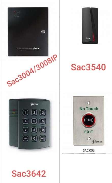 Control de acceso por tarjeta o código para apertura puerta - 4