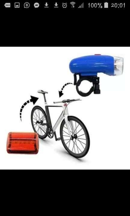 Luz Led para bicicletas - 0