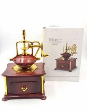 Porta joya musical de molino