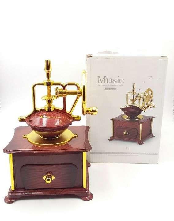 Porta joya musical de molino - 0