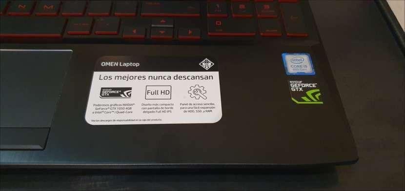Notebook HP OMEN 15 - i5 8400h - GTX 1050 - 8gb RAM DDR4 - 1