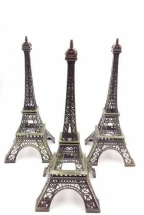 Mini Torre Eiffel de metal