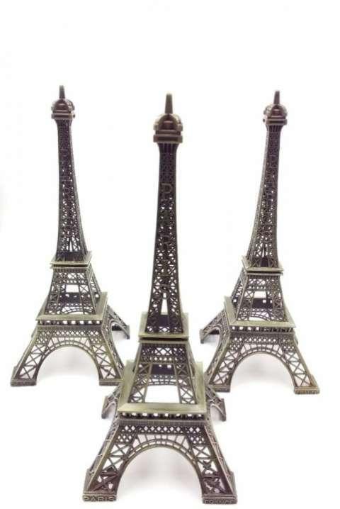Mini Torre Eiffel de metal - 0