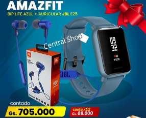 Reloj Smart Amazfit + Auricular JBL