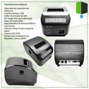Impresora 3nstar rpt005 rs232 + usb 80mm
