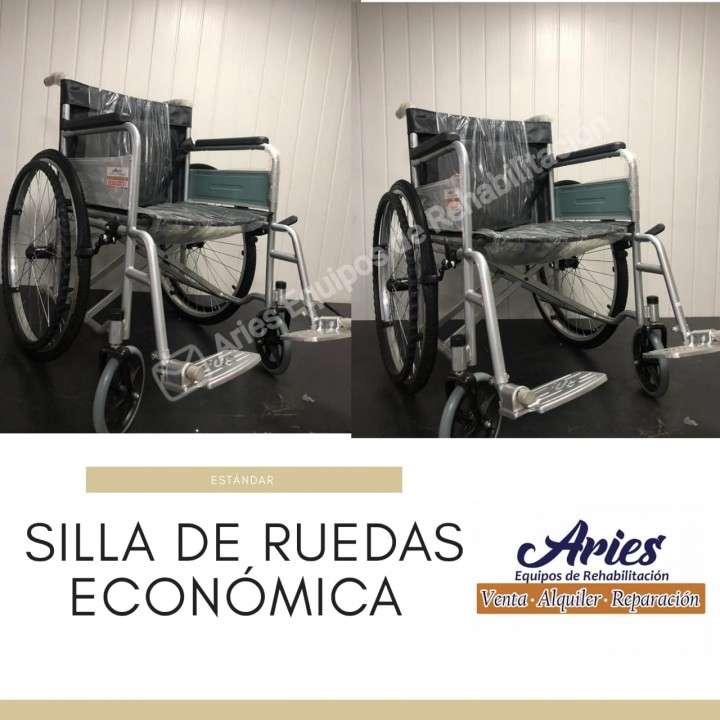 Silla de ruedas estándar económica - 0