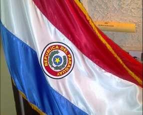 Bandera paraguaya de países y personalizadas mastil