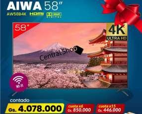Smart TV AIWA 58 pulgadas
