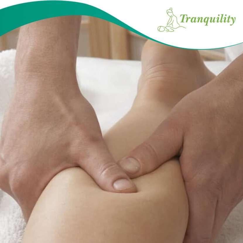 Reflexología masaje en pies y piernas - 2