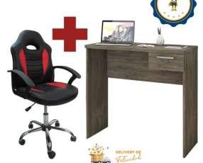 Silla kids gamer Jet y escritorio de la oficina