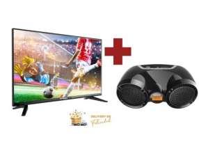 Televisor Smart 40 pulgadas led y radio mini Boombox Speed