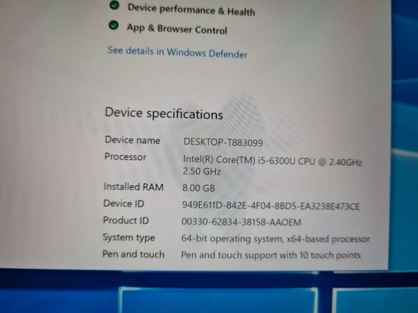 Tablet Surface 13.5 pulgadas - 1